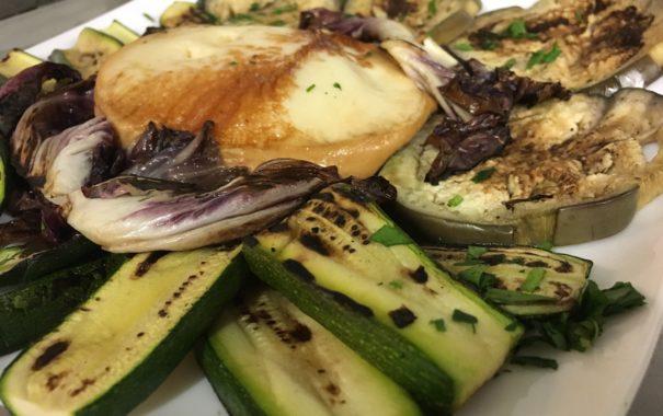 Grigliata vegetariana con scamorza_ristorante_milano