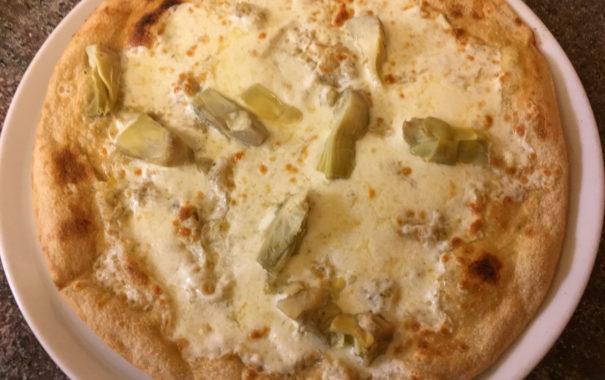 Pizza carciofino_pizzeria il grissino_milano
